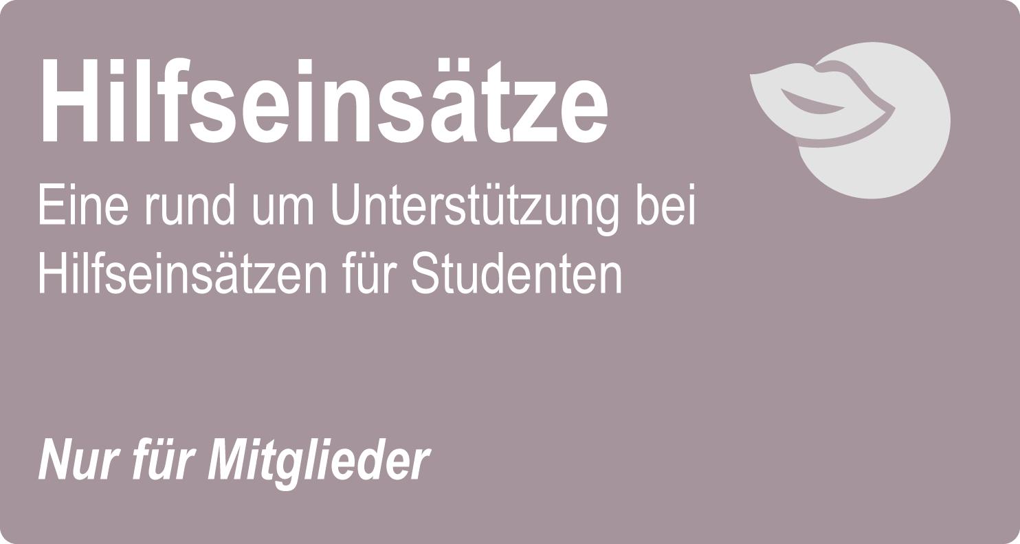 Zahnmedizin Studenten Hilfseinsätze DZMB, Deutscher Zahnmedizinerbund e.V.