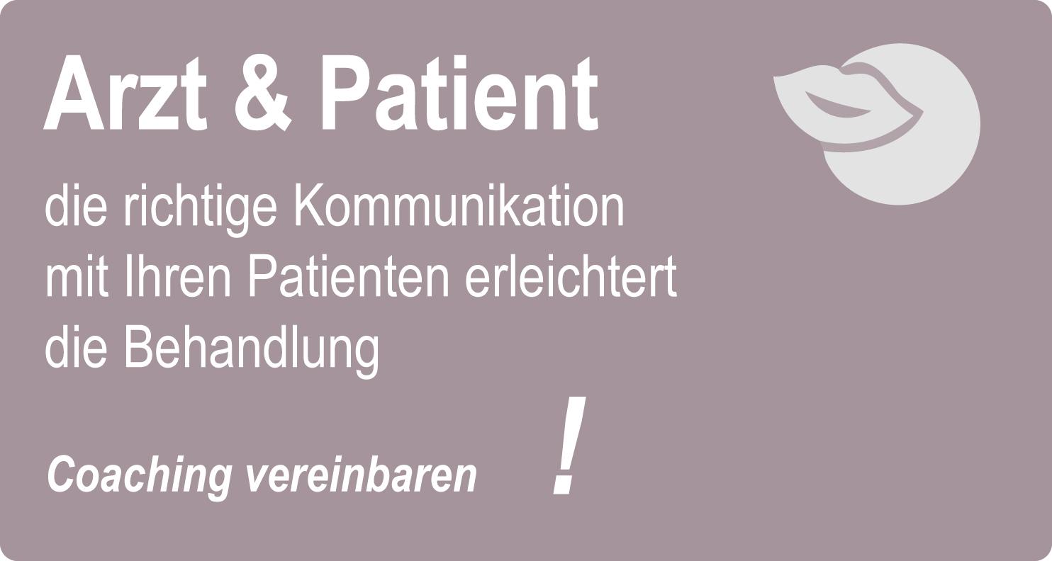 Kommunikation Arzt Patient Kommunikationscoaching dzmb Deutscher Zahnmedizinerbund